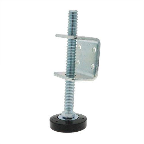 soporte de montaje para muebles Paquete de 12 soportes ajustables M8 con patas de nivelaci/ón de 28 mm fijaciones de tablero conjuntos para tableros de base patas roscadas con soportes