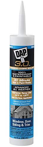 Dap 18360 White DAP Dynaflex 3.0 All-Purpose Sealant 9.0-Ounce