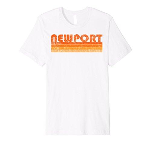 Mens Vintage Retro Newport RI Premium T Shirt 2XL - Shop Ri The Newport