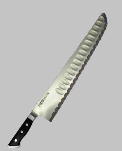 Guresuten carving knife 533GK (33cm) type with wooden handle brim by Guresuten knife