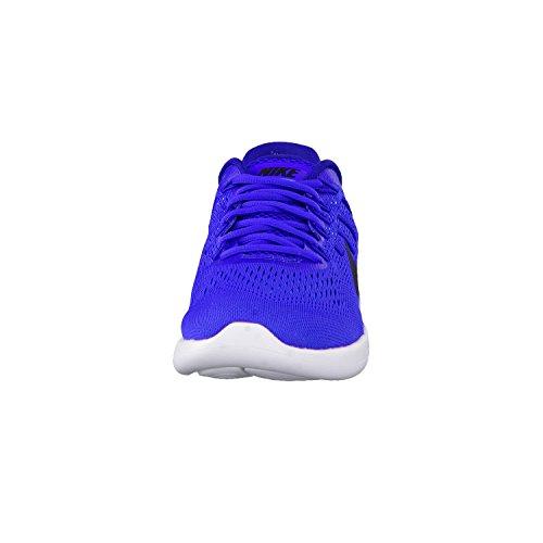 Nike Mens Lunarglide 8 Löparskor Racer Blå / Djupt Kungsblå / Blå Glöd / Svart