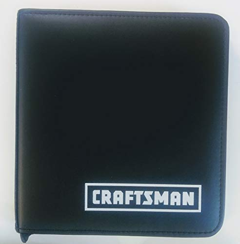 Craftsman Genuine Leather Tool case pouch with zipper for small tools Size is 7 inch x 7 inch x 1.5 inch