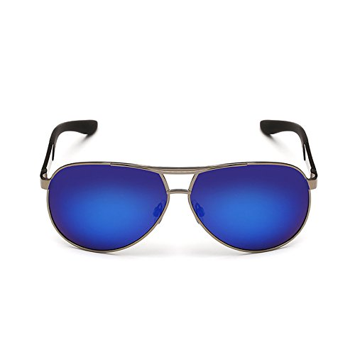 Coating Cool de Hombre C Polarizador Hipster Espejo de Gafas Sol Espejo Conducción Rana Driver Espejo de de Sol Color C Gafas Sol Gafas USpqHH