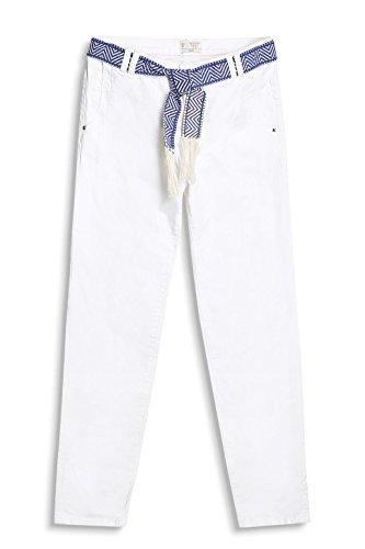 white Esprit 047ee1b006 Pantaloni Bianco Donna 1Hvzq8