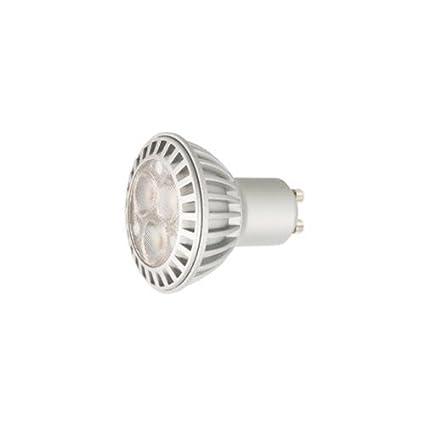 Duolec 9160C308 - Bombilla dicroica regulable LED 5W GU10 Cálida