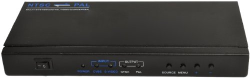 - OREI X100 PAL to NTSC Analog (RCA/Composite) Video Converter