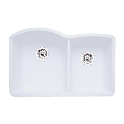 d 1-3/4-Inch Bowl, White ()