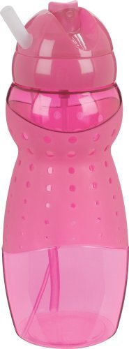 Trudeau Mist 19-Ounce Hydrator Bottle, Breast Cancer Research Foundation Pink by Trudeau ()