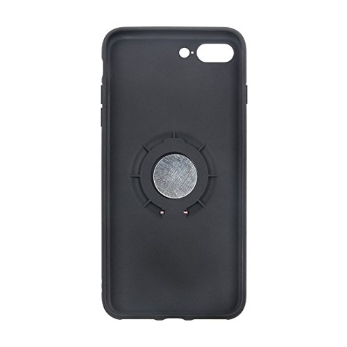 Iphone 7 Plus Fall, TPU + PC Schutzmaßnahmen zurück Fall mit Ring Halter CASE FÜR IPHONE 7 PLUS ( Color : Magenta )