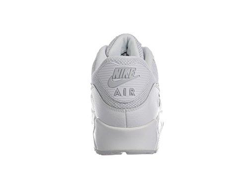 Nike Air Max 90 Weiß / Pure Platin Synthetische Laufschuhe
