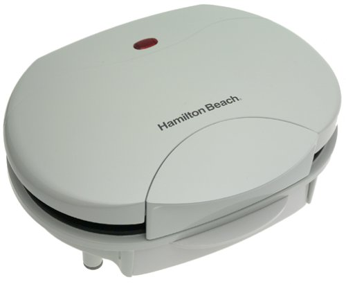 Hamilton Beach 25219 HealthSmart Contact Grill, White
