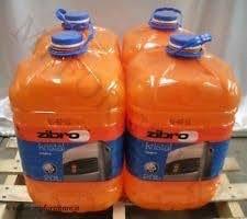 Zibro Kristal - Combustible líquido universal, 4 unidades, para cualquier estufa, 20 l