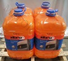 Zibro Kristal - Combustible líquido universal, 4 unidades ...