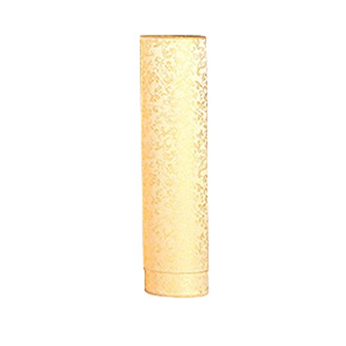 FANCY PUMPKIN High-end Scroll Holder Seal Damp-proof Collection Drawing Tube Paper Tube 30cm, Golden by FANCY PUMPKIN