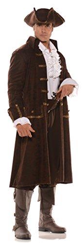 Underwraps Men's Pirate Captain Costume - Captain