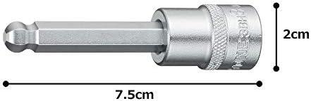 [スポンサー プロダクト]トネ(TONE) ボールポイントヘキサゴンソケット HP3BH-03 差込角9.5mm(3/8
