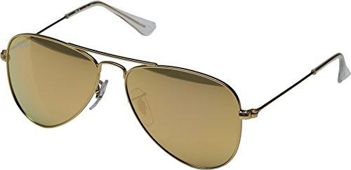 Ray-Ban Junior Unisex RJ9506S 50mm (Youth) Matte Gold - Ban Jr Ray Sunglasses