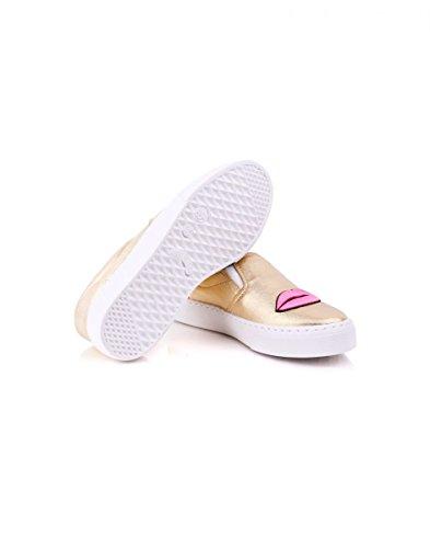 Ferragni Mujer para Chiara Sintético Material de Zapatillas Z1ww6dqP