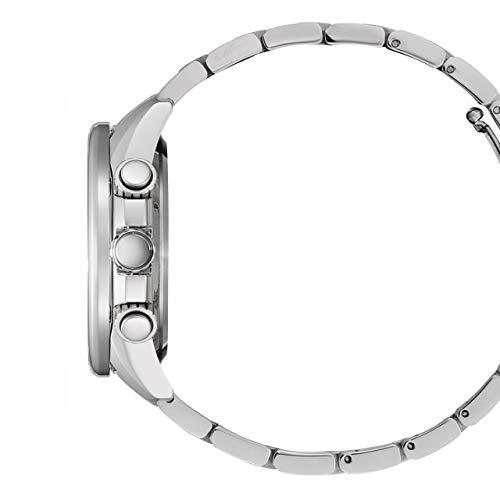 Citizen CB5880-54L Eco Drive klocka herrklocka rostfritt stål 20 bar Chrono Datum silver
