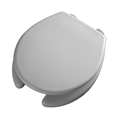 Bemis Healthcare 2L2050T Bemis Healthcare Quality Medical Products Round OFWC with STA-TITE Hinge  and DuraGuard Antimicrobial Agent, 2'' Lift - Product Number : #2L2050T