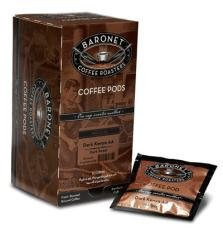 Baronet Chocolate Fudge DECAF Coffee Pods-2 Pack-36 Coffee Pods