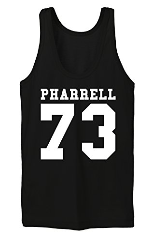 Pharrel 73 Tanktop Girls Noir