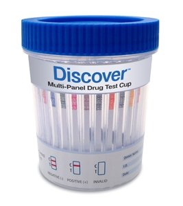 Discover-12-Panel-Cup-Case-Of-25-Clia-Waived-Drug-Test-THCCOCAMPMOPMETPCPBARBZOMTDMDMATCAOXY