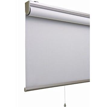 「アルティス」 (幅135cmx丈220cm) ダークグレー 遮光タイプのロールスクリーン