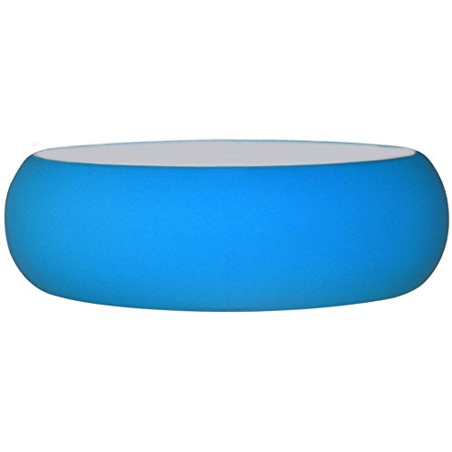 Neon Velvet Touch Curved Bangle, 7/8