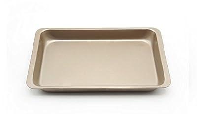 "Astra shop Preferred Non-stick Rectangular Cake Pan Roasting Baking Tray, 12"" X 7"""
