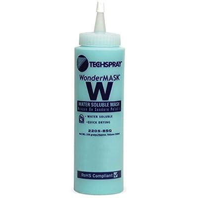 Chemical; Coating; Solder Mask; Bottle; Wt 8Oz; Non-Corrosive, Pack of 2