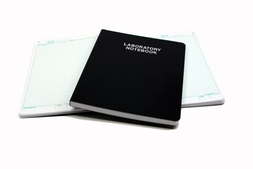 Scientific Notebook Company Flush Trimmed, #3001 Laboratory Notebook, 192 Pages (.25
