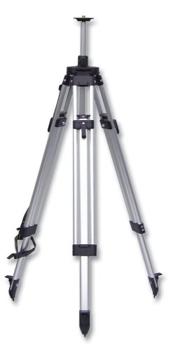 CST/berger 60-ALELT20 Value Line 5/8-Inch 11 Threaded Adjustable Height 60-Inch to 72-Inch Flat Head Tripod