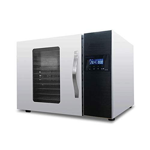 Dehydrator 12-Layers Adjustable Digital Heavy Duty Food Dehydrator Fruit Dryer, Snack Jerky Maker, 30℃~90℃, 20h Timer, Temperature & Time Control ()