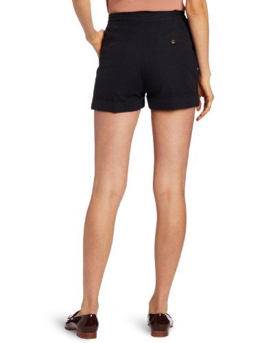 Fred Perry Women's High Waisted Short, Blue Granite, 12(US),16(UK)