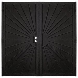 Crl Sunset Black 60 Quot X 80 Quot Double Security Door Screen