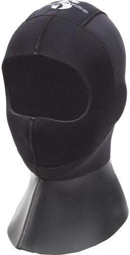 Scubapro Evertec LT Drysuit Diving Hood, 5mm, Black, 2XL