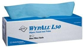 Kimberly-Clark Professional 412-05810 Wypall L30 Economizer Wipers Blue 8 Boxes-Case
