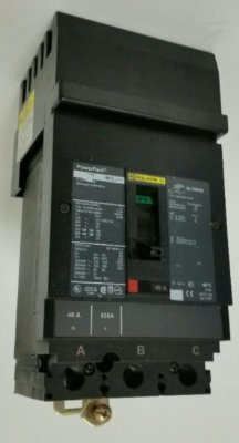 HDA36060, I Line Power Pact Square D Circuit Breaker