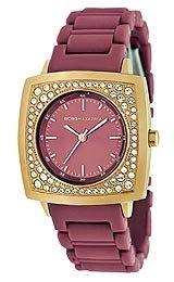 BCBG Bracelet Burgundy Dial Women's Watch #BCBG8280