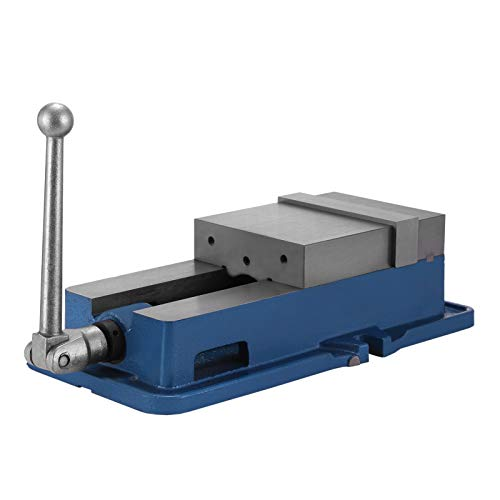 Happybuy 6 Inch ACCU Lock Down Vise Precision Milling Vice - 6 Inch Jaw Width - Drill Press Vise Milling Drilling Machine Bench Clamp Clamping Vice - Vise Kurt Machine