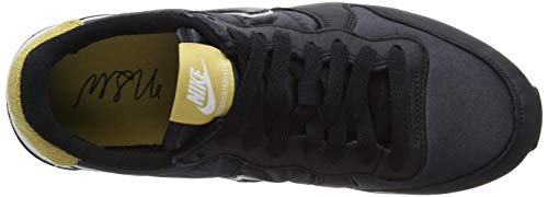 Negro Black Nike W Heat Gold Zapatillas para Internationalist 001 Mujer Black de Wheat Gimnasia qSqHf