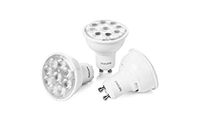 LED 50W GU10 WarmGlow 3Pk