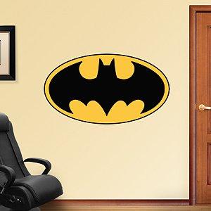 Batman Logo REAL.BIG. Fathead Wall Graphics 4'2