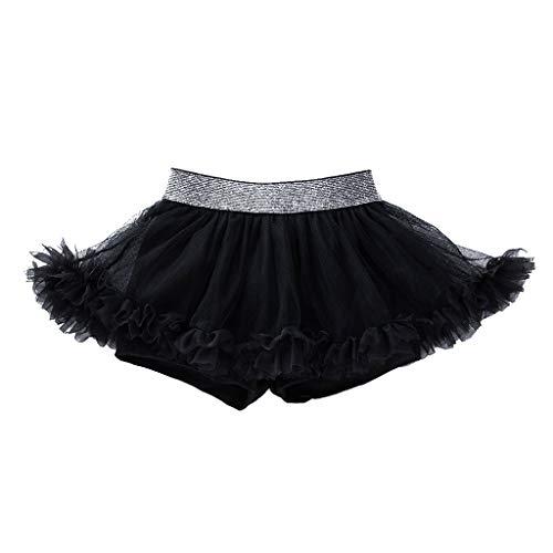 Tronet Newborn Baby Girls Dance Elastic Tutu Skirt Pettiskirt Ballet Fancy Costume -