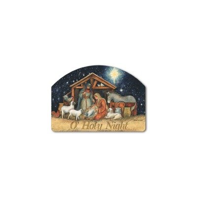 Christmas Yard Signs - Holy Night Garden Sign