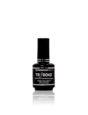 Amazon.com: PREMIUM uñas Tri 3 Bond Acid Free Primer/Bonding ...