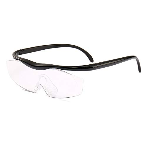Hands-Free Magnifying Glass 1.8X Magnification Focus Eyeglasses - Best Reading Magnifier Clear Viewing Portable for Elder Kids