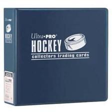 - Ultra Pro 3-Ring (D-Ring Binder) Blue Hockey Card Album