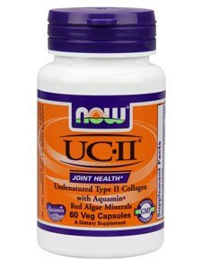 UC II Joint Health Undenatured Type II Collagen 60 VegiCaps (Pack of 2) For Sale